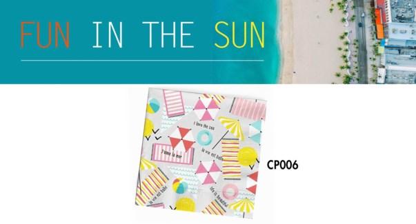 CP FUN IN THE SUN NAPKINS FUN