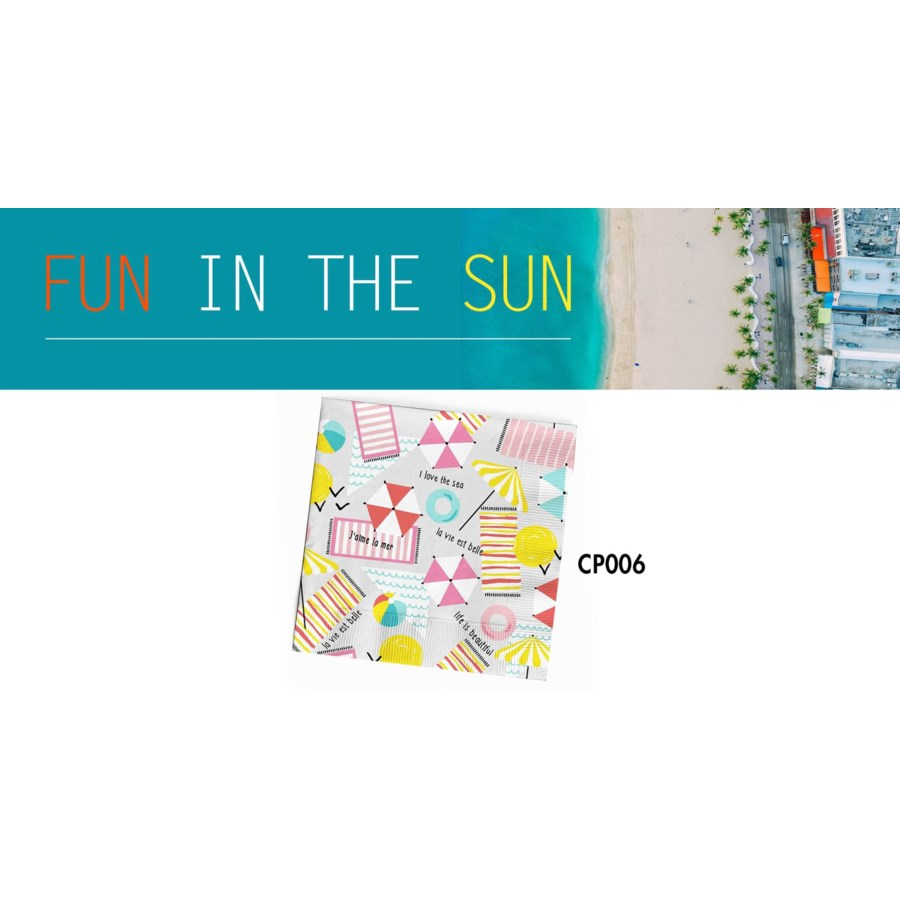 CP FUN IN THE SUN NAPKINS FUN