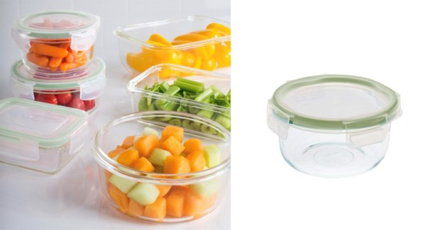 CONTENANT ALIMENTAIRE VERRE ROND 400ML