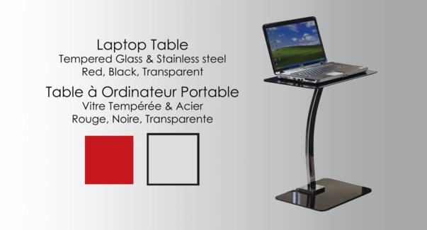 Gls Furn Clr Laptop     112252