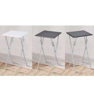 JOEY TABLE PLIABLE BLANC 40x40x75CM 1B