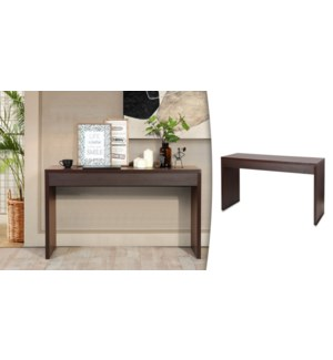OUNAS WALNUT CONSOLE TABLE 122X39.5X80CM