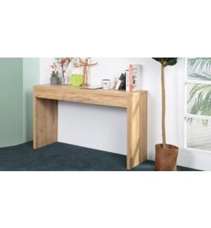OUNAS WOOD CONSOLE TABLE 122X39.5X80CM
