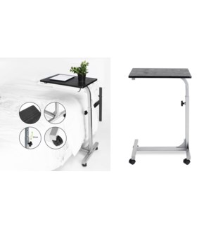 BELLO BLACK LAPTOP TABLE WITH ADJUSTABLE HEIGHT 48X37X67-79C