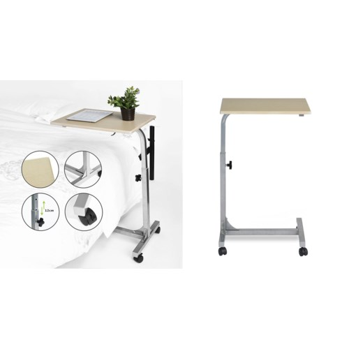 BELLO WOOD LAPTOP TABLE WITH ADJUSTABLE HEIGHT 48X37X67-79C