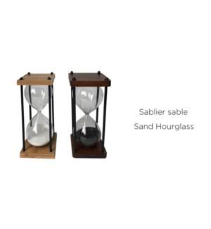 Sablier Sable Noir-9.523x25 - 8B