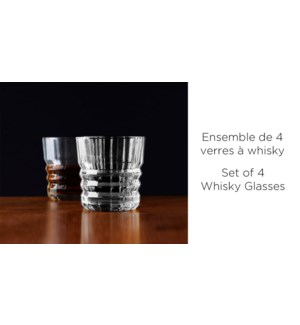 ENS/4 VERRES A WHISKEY VERRE COUPE