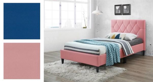 Pu Bed Frame  INFI 2977 BLUE T