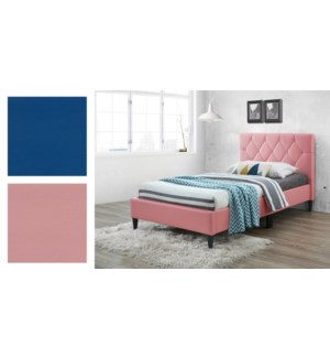 Pu Bed Frame  INFI 2977 BLUE T