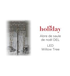 Xmas 100CM Willow Tree w/ Spike 144L -6B
