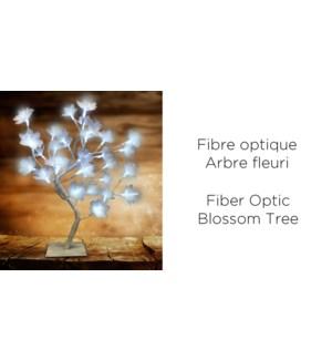 Xmas Fiber Optic Blosom Treem 32LED - 45CM 6B