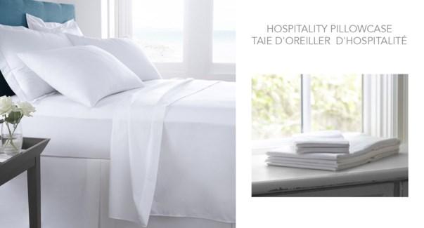"Hospitality Pillowcase 21X32"""