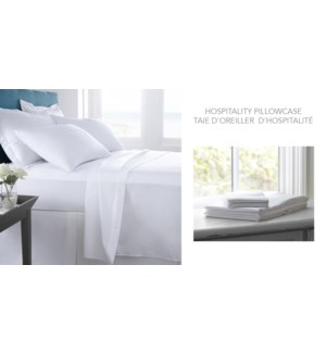 Hospitality Pillowcase 21X40""