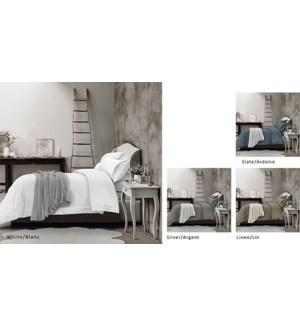 Hotel Ens Housse de Couette avec Replis/Tencel T320 Lin
