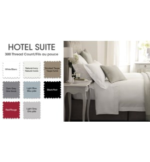 Hotel Plw Shams T300ctn Dgry S