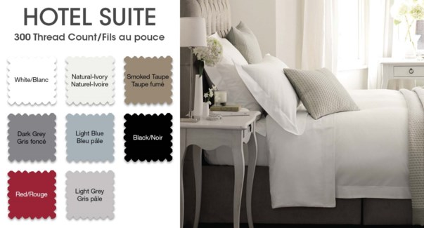"""Hotel Ss T300 Ctn 10""""dkgry 3/4"""