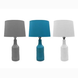 IBIS LAMPE DE TABLE EN CERAMIQUE ASST