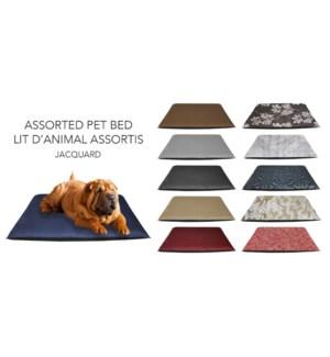 Jacquard Dog Bed 34x44 6/b