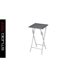 TABLE PLIABLE BLANC 40*40*75CM