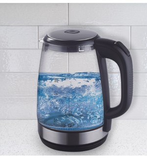 2.0L ELECTRIC LED GLASS KETTLE 6/BOX