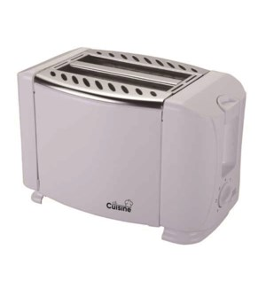 2-SLICE ELECTRIC TOASTER IN WHITE 8/B
