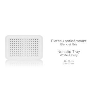 PLATEAU ANTIDERAPANT 42X31CM 12/B