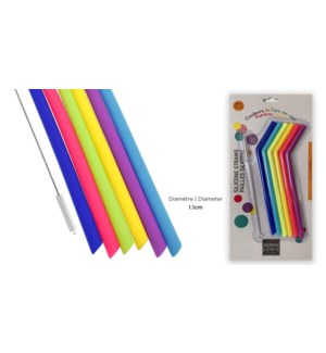 6 in PAILLES SILICONE