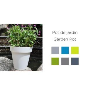 POT DE JARDIN 30X30X30 ASST. 24/CTN