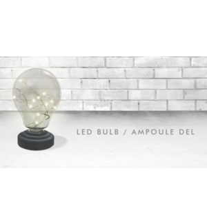 LED LIGHT BULB 15X15CM 6/B