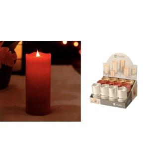 FLAMELESS LED CANDLE 7x13CM asst. 48/ctn
