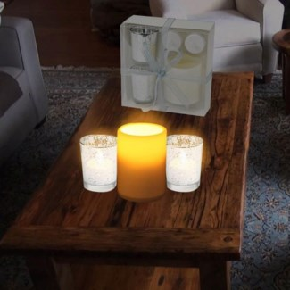 Led Candle Yyly219 Silver 24b