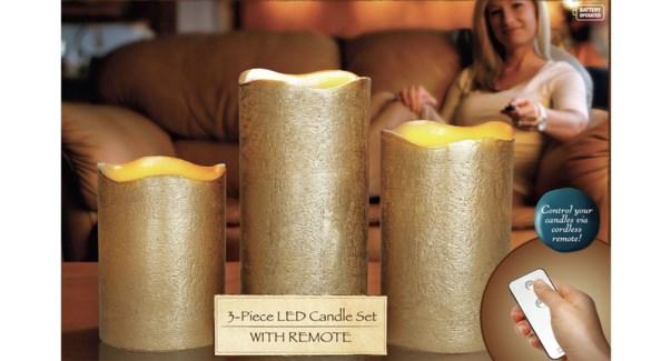 Led Candle 16yyly240 Gold 12b