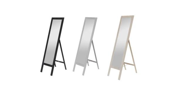 Miroir Sur Pied BLANC 40x145-1B