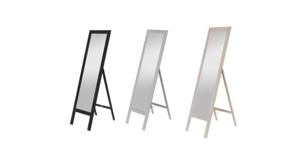 Miroir Sur Pied Noir 40x145-1B