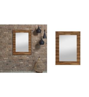 Texture de miroir en bois 70x102 - 1B