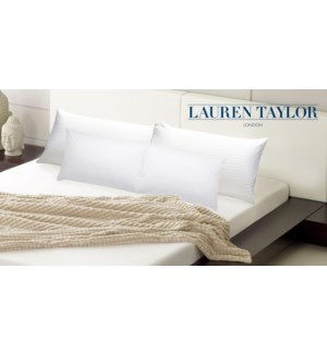 Luxury Sateen Pillow Shell Pair 19x28