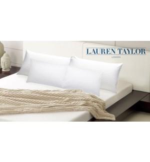 Luxury Sateen Pillow Shell Pair 19x28