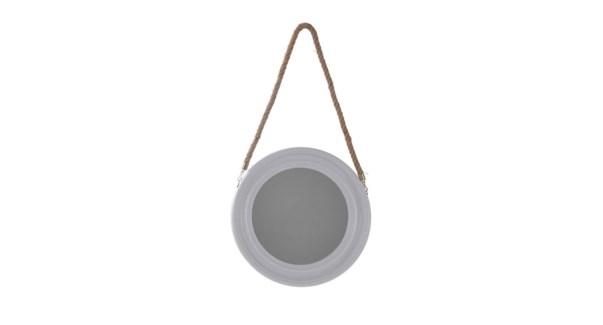Miroir rond avec corde - 40x40x4 - 6B