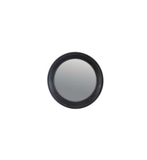 Miroir Rond Noir 84x84x5.5 - 2B