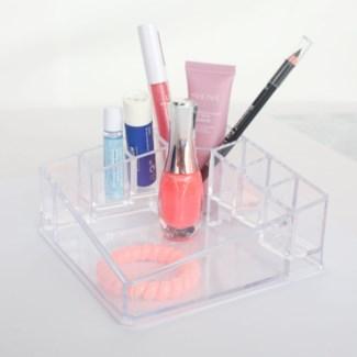 Make-up Square Clr 14x17x7.2