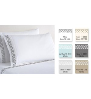 Embroid Mf Sheet Set Ast K 12B