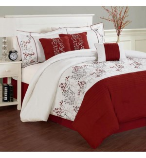 Marion  7p Comf Set Red  K  2b