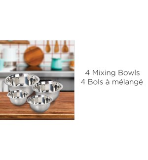4 PCS SWALLOWMIXING BOWL SET