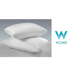 MICRGEL PILLOW WHI FIRM QN