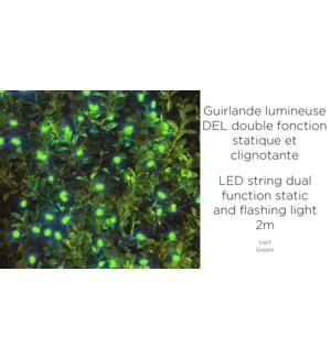Guirlande lumineuse … 150 DEL - 2 mŠtres - Vert-12B