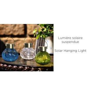 Fissure solaire Lampe de table/suspension 11.2x11.4 Asst.12B