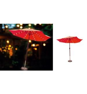 LumiŠre solaire de parasol de 72 LED -24B