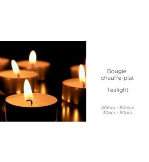30 bougies chauffe-plat 4 heures - 24B