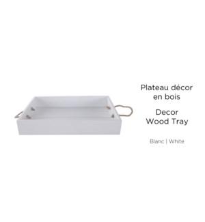 Plateau D'cor Bois Blanc - 40.6x27.1x6.5-8B