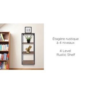 tagŠre Rustique … 4 Niveaux - 23x17.8x61.6 - 4B